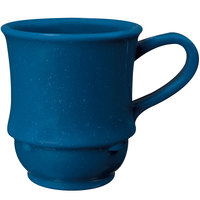 GET TM-1208-TB Texas Blue 8 oz. Blue Stacking Mug - 24/Case