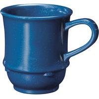 GET TM-1208-TB Texas Blue 8 oz. Blue Stacking Mug - 24/Case