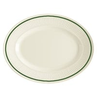 GET EP-12-K Kingston 11 3/4 inch Oval Platter - 24/Case