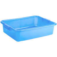 Vollrath 1521-C04 Traex® Color-Mate Blue Food Storage Box - 20 inch x 15 inch x 5 inch