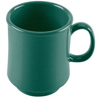 GET TM-1308-KG Kentucky Green 8 oz. Green Tritan Stacking Mug - 24/Case