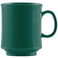 GET TM-1308-KG Kentucky Green 8 oz. Green Tritan Stacking Mug - 24/Case