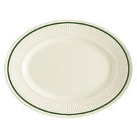 GET EP-10-K Kingston 9 1/4 inch Oval Platter - 24 / Case
