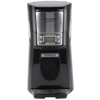 Hamilton Beach 48464 BrewStation Summit Black Single Serving 12 Cup Coffee Maker with Auto Shut Off