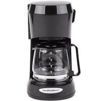 Hamilton Beach 48136 Black 5 Cup Coffee Maker