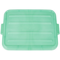 Vollrath 1500-C19 Traex Color-Mate Green 20 inch x 15 inch x 2 1/2 inch Snap-On Food Storage Box Lid