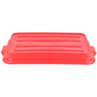 Vollrath 1500-C02 Red 15 inch X 20 inch Snap-On Polypropylene Lid for Traex Color-Mate Food Storage Box