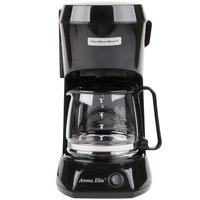 Hamilton Beach HDC500C 4 Cup Coffee Maker with Auto Shut Off and Glass Carafe - 120V, 550W