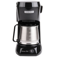 Hamilton Beach HDC500CS 4 Cup Coffee Maker with Auto Shut Off and Stainless Steel Carafe - 120V, 550W