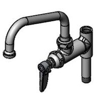 T&S B-0155-05 6 inch Pre-Rinse Add On Nozzle with Quarter Turn Cartridge and 5 inch Riser