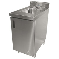 Advance Tabco SHK-302 Stainless Steel Sink Cabinet - 24 inch Width