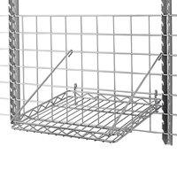 Metro PBA-MS SmartWall G3 Chrome Square Grid Shelf - 16 3/4 inch x 16 3/4 inch