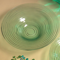 American Metalcraft GBG19 128 oz. Glacier Recycled Green Glass Bowl