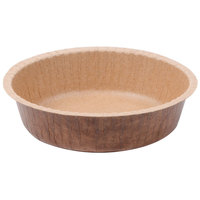 Solut 90888 8 oz. Corrugated Kraft Baking Cup with Flange - 700/Case