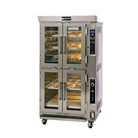 Doyon JAOP6 Double Deck Jet Air Electric Oven Proofer Combo - 14 kW