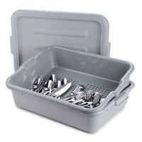 5 inch Perforated Gray Drain Soak Box