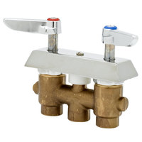 T&S B-0513-01 Concealed Mixing Faucet with 3 inch Centers and Check Valves