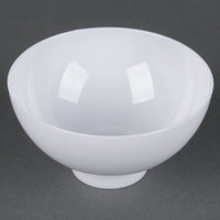 Fineline Tiny Temptations 6208-WH 2 oz. White Plastic Tiny Bowl - 10 / Pack