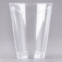 Fineline Savvi Serve 407 7 oz. Tall Clear Hard Plastic Tumbler - 20/Pack