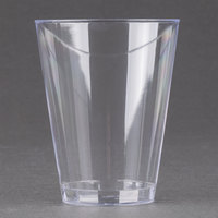 Fineline Savvi Serve 407 7 oz. Tall Clear Hard Plastic Tumbler 20 / Pack