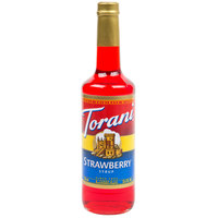 Torani 750 mL Strawberry Flavoring / Fruit Syrup