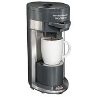 Hamilton Beach 49963 Gray FlexBrew Single Serving Coffee Maker - 120V