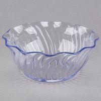 Cambro SRB13152 13 oz. Clear Plastic Swirl Bowl - 24/Case