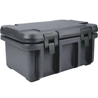 Cambro UPC180191 Granite Gray Camcarrier Ultra Pan Carrier - Top Load for 12 inch x 20 inch Food Pan