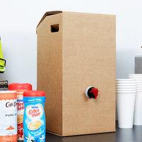 LBP 7150 3 Gallon Kraft Catering Beverage Dispenser - 10/Case
