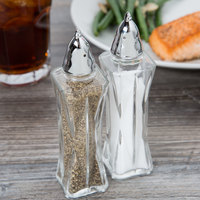 Libbey 75301 2.25 oz. Summit Salt / Pepper Shaker - 2/Pack