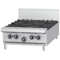 Garland G24-4T Natural Gas 4 Burner Modular Top 24 inch Range - 132,000 BTU