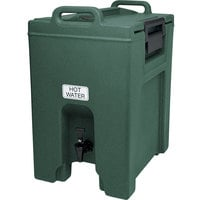 Cambro UC1000192 Ultra Camtainers® 10.5 Gallon Granite Green Insulated Beverage Dispenser