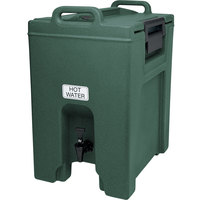 Cambro UC1000192 Ultra Camtainer 10.5 Gallon Granite Green Insulated Beverage Dispenser