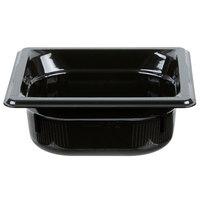 Vollrath 9062420 Super Pan® 1/6 Size Black High Heat Food Pan - 2 1/2 inch Deep