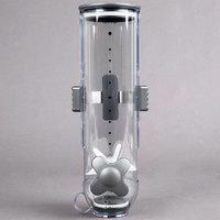 Zevro KCH-06138 SmartSpace Single Canister Wall Mount Dry Food Dispenser