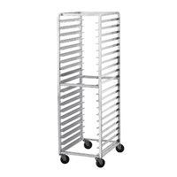 Advance Tabco CFL30 Spec Line Front Load Aluminum Bun Pan Oven Rack - 30 Pan Capacity