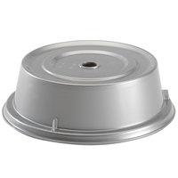 Cambro 909CW486 Camwear Camcover 9 3/4 inch Silver Metallic Plate Cover - 12/Case