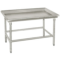 Advance Tabco SR-48 30 inch x 48 inch Stainless Steel Sorting Table