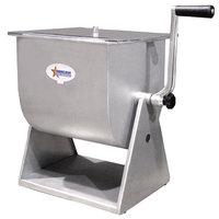 44 lb. Manual Tilting Meat Mixer with 7 Gallon Tank