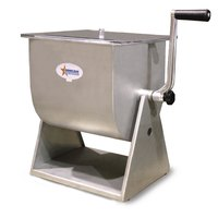 44 lb. Manual Tilting Meat Mixer with 7 Gallon Tank