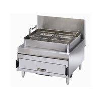 Toastmaster TMFG30 Single Pot 30 lb. Gas Countertop Fryer - 70,000 BTU