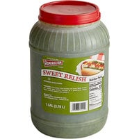 Admiration Sweet Relish 1 Gallon Containers - 4/Case