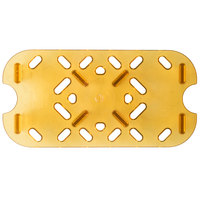 Vollrath 23400 Super Pan® 1/4 Size Amber High Heat Drain Tray