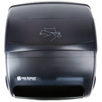 San Jamar T850TBK Integra Plastic Roll Towel Dispenser - Black Pearl