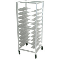 Advance Tabco UR10 Heavy Duty Universal Rack with 6 inch Shelf Spacing - 10 Pan