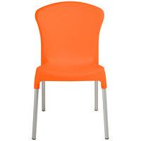 Outdoor Restaurant Chairs orange outdoor restaurant chairs | orange outdoor dining chairs