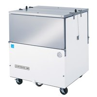 Beverage-Air ST34N-W-02 34 inch White 2-Sided Cold Wall Milk Cooler with Stainless Steel Interior