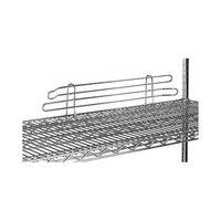 Advance Tabco SL-36 36 inch Chrome Wire Shelf Ledge