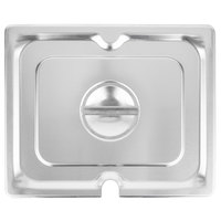 Vollrath 94200 Half Size Stainless Steel Slotted Cover for Super Pan 3