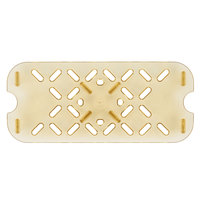 Vollrath 23300 Super Pan 1/3 Size Amber High Heat Drain Tray